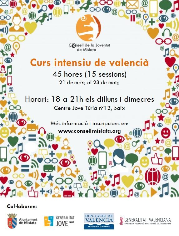 Curso intensivo de valenciano 2018
