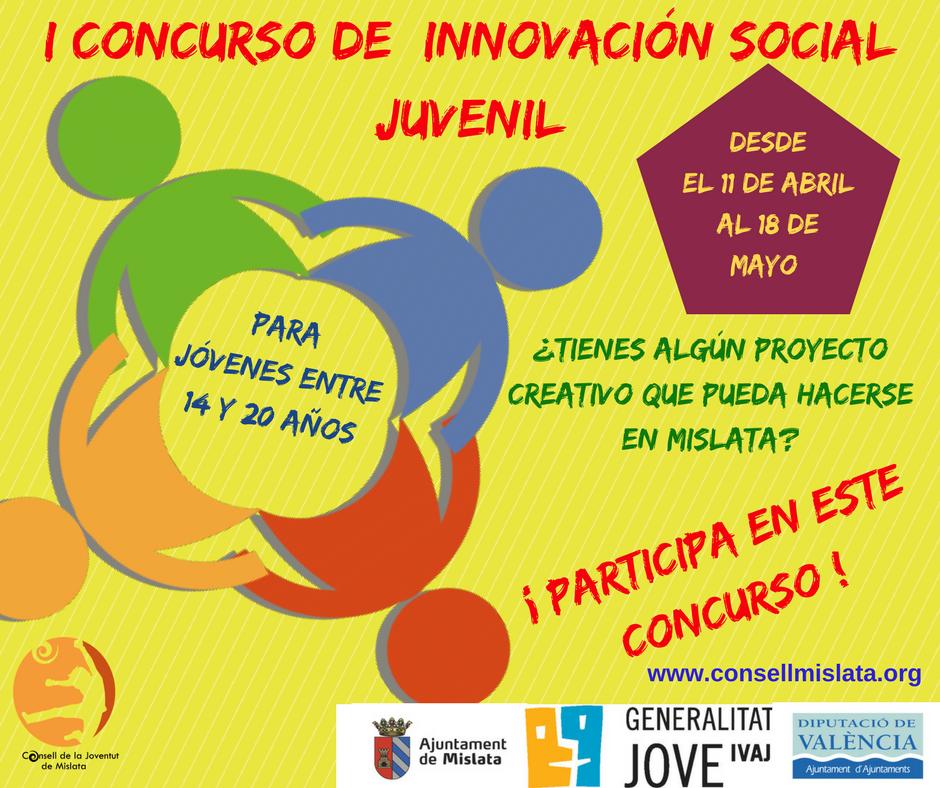 I Concurso de innovación social juvenil