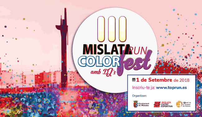III Mislata Run Color Fest
