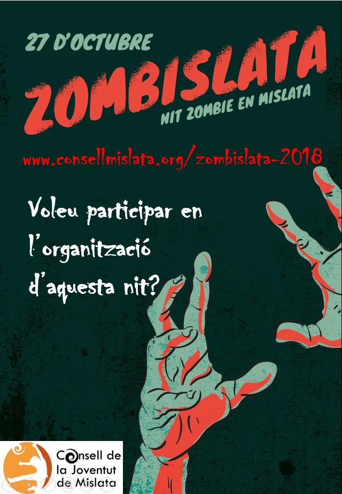 Zombislata 2018 (voluntariado organización)