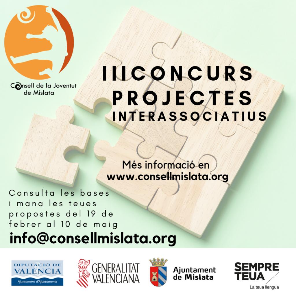 III Concurso de proyectos interasociativos