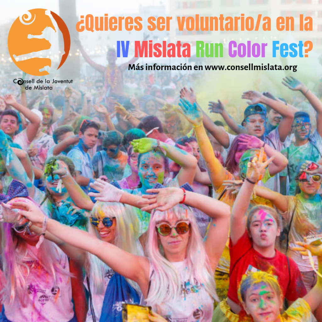Voluntariado IV Mislata Run Color Fest